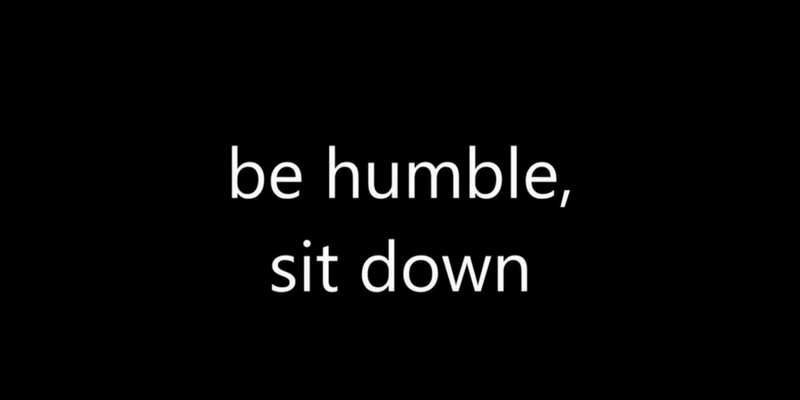 be-humble